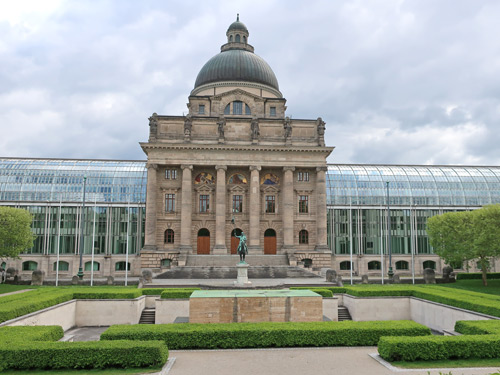 State Chancellery in Munich Germany